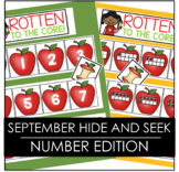 September Hide and Seek - Numbers Edition