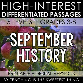 September Passages: History