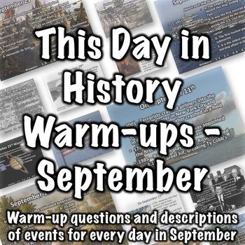 September History Warm-ups