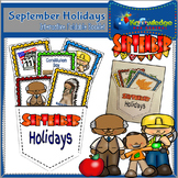September Holidays Interactive Foldable Booklet