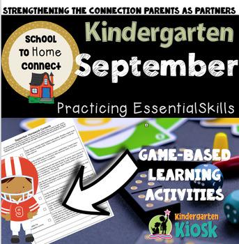 September Homework Packet: Kindergarten