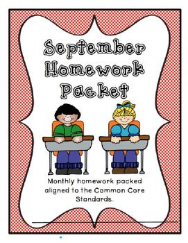 September Homework Packet