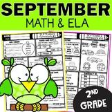 September Homework 2nd Grade