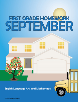 September Homework or Class Activities - Kindergarten & First Grade
