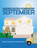 September Homework or Class Activities - Kindergarten & Fi