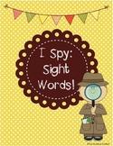 September I Spy: Sight Words (Reading Street Unit R)