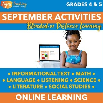 Fall Chromebook Activities - September Independent Learning Module (ILM)