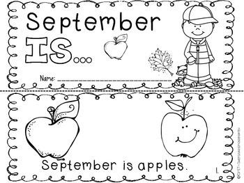 September IS… - Emergent Reader