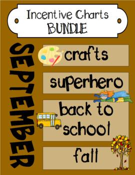 September Incentive Chart BUNDLE