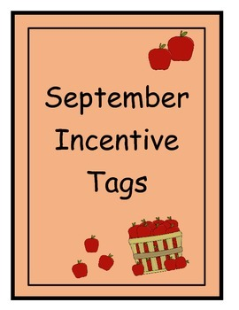 September Incentive Tags