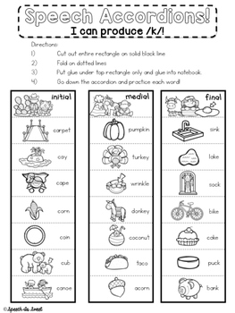 September Interactive Articulation Notebook