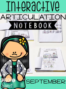 September Interactive Articulation Notebook