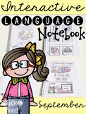 September Interactive Language Notebook