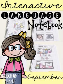 September Interactive Language Notebook