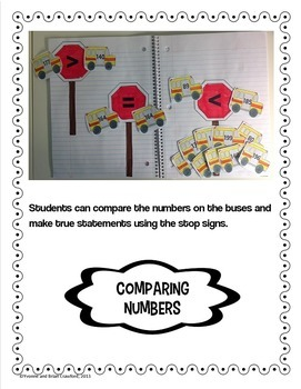 Back to School Interactive Math Notebook Second Grade Common Core