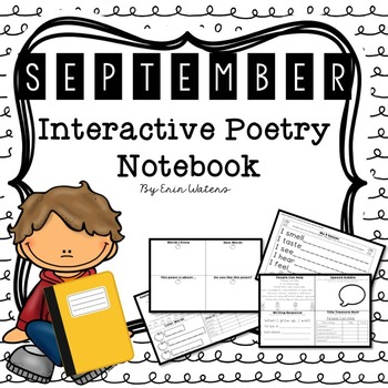 September Interactive Poetry Notebook {With Original Poems!}