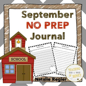 September Writing Prompts BUNDLE