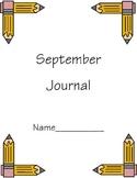 September Journal Cover