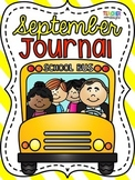 September Journal - Primary Grades