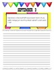 September Journal Prompts Printable Notebook Common Core W.1, W.2, W.3