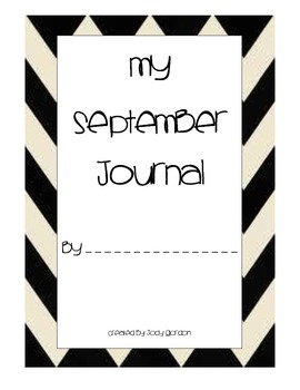 September Journal Prompts