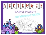September Journal Writing Prompt for Beginning Writers