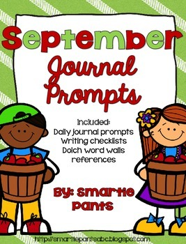 Monthly Journal Writing Prompts- September