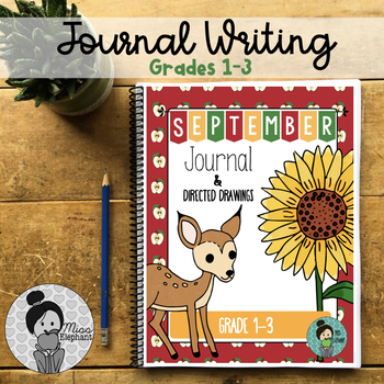 September Writing prompts 2nd Grade and 3rd Grade
