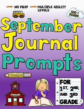 September Journals for Primary Students
