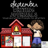 September Journals with Visual and Written Prompts