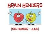 September - June Brain Benders Pack
