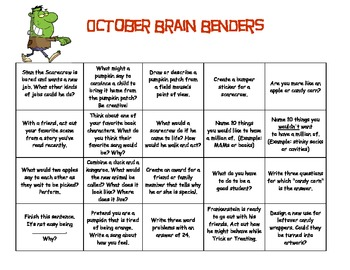 September - June Brain Benders Pack