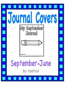 September- June Journal Covers