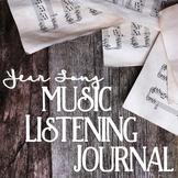 September - June Music Listening Journal