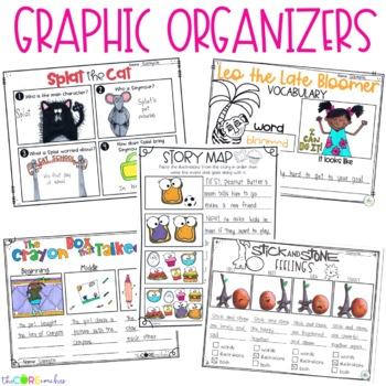 September K-1 Back to School Bundle: Interactive Read-Aloud Lesson Plans