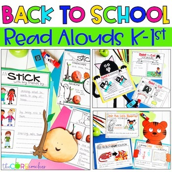 September Bundle Digital Read-Alouds | Back to School | for Distance Learning