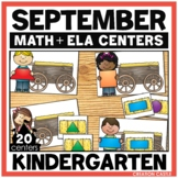 September Kindergarten Centers - Math and Literacy
