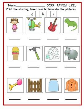 Kindergarten September