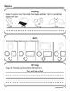 September Kindergarten Homework or Morning Work