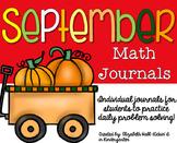 September Kindergarten Journal