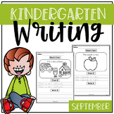 September Kindergarten Writing