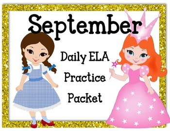September Language Activities