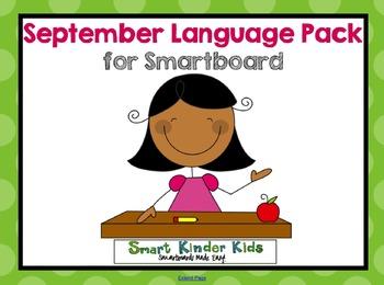 September Language Pack for Smartboard