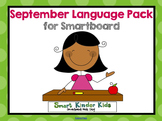 September Language Pack for Smartboard