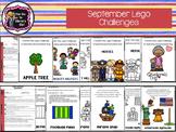 September Lego Challenges