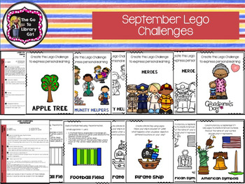 September Lego Challenges