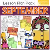 September Lesson Plan Pack | 12 Activities for Math, ELA,