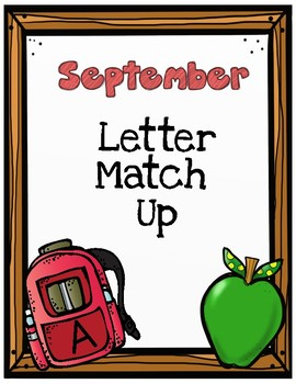 September Letter Match Up