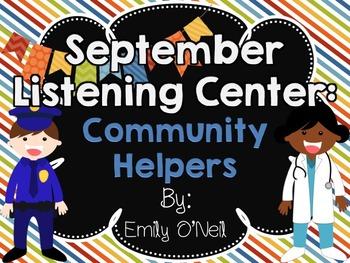 September Listening Center - Community Helpers