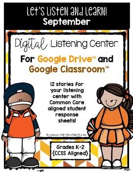 September Listening Center GOOGLE CLASSROOM EDITION